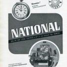 1939 National Watch Company Leon Schmid & Cie Switzerland Vintage 1939 Swiss Ad Suisse Advert