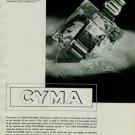 1939 Cyma Tavannes Watch Company Vintage 1939 Swiss Ad Switzerland Suisse Horlogerie