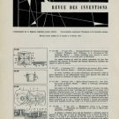 Revue des Inventions 1956 Swiss Horology Patents Brevets Suisses Horlogerie