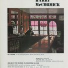 Harry McCormick The Veteran Vintage 1976 Art Ad Advertisement