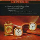 1974 Swiza Clock Company Switzerland Vintage 1974 Swiss Ad Suisse Advert Louis Schwab Horlogerie