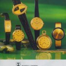 Scholl Watch Company Switzerland Vintage 1977 Swiss Ad Suisse Advert  Horology