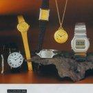 Mars Watch Company Adolf Gengenbach Pforzheim Vintage 1977 Swiss Ad Suisse Advert Horlogerie