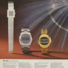 Gruen Watch Company Switzerland Vintage 1974 Swiss Ad Suisse Advert Horlogerie