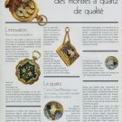 Girard-Perregaux Watch Company Vintage 1977 Swiss Ad Suisse Advert Horology