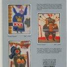 Theo Tobiasse Femme Totem Poupee Gigogne Femme Foraine Vintage 1982 Art Ad Advert Advertisement