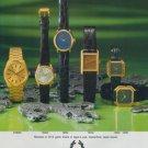 Solvil & Titus Watch Company Switzerland Vintage 1977 Swiss Ad Suisse Advert