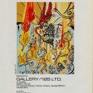 Salvador Dali Portrait of Autumn Vintage 1981 Art Ad Advert Advertisement