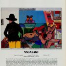 Richard Merkin Nagasaki Vintage 1981 Art Ad Advert Advertisement
