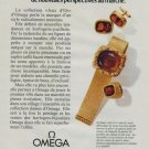 1972 Omega Watch Company Switzerland Vintage 1972 Swiss Ad Suisse Advert Horology