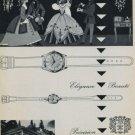 1957 Huguenin Watch Company 100 Year Anniversary 1957 Swiss Ad Suisse Advert Horology Horlogerie