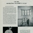 1950 Paul Buhre Watch Company Revolutions and Their Repercussions 1950 Magazine Swiss Article