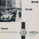 Aureole Watch Company Vintage 1958 Swiss Ad Suisse Advert Horlogerie Horology
