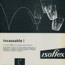 1958 Isoflex Company Vintage 1958 Swiss Ad Suisse Advert Horology Horlogerie