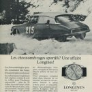 Longines Watch Company Switzerland 1967 Swiss Ad Suisse Advert Horlogerie
