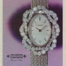 1971 Vacheron Constantin Watch Company Switzerland Vintage 1971 Swiss Ad Suisse Advert Horology