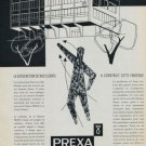 Prexa Watch Company Switzerland 1957 Swiss Ad Suisse Advert (French Text)
