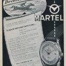 1956 Martel Watch Company Ponts-de-Martel Switzerland Vintage 1956 Swiss Ad Suisse Advert