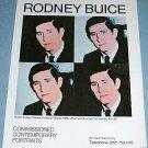 1976 Rodney Buice H.R.H. Prince Charles Vintage 1976 Art Ad Advert Advertisement