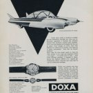 Doxa Watch Company Le Locle Switzerland 1956 Swiss Ad Suisse Advert Horlogerie