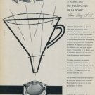 Louis Lang Company Louis Lang SA 1958 Swiss Ad Suisse Advert Horlogerie Horology