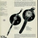 1956 IWC International Watch Company Switzerland Vintage 1956 Swiss Ad Suisse Advert