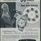 1957 Girard-Perregaux Watch Company Switzerland 1957 Swiss Ad Suisse Advert Horology