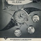 1955 Paul Buhre Watch Company Switzerland Vintage 1955 Swiss Ad Suisse Advert Horlogerie