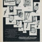 1955 Jaeger-LeCoultre Watch Company Geneva Vintage 1955 Swiss Ad Suisse Advert Horology