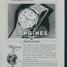 1950 Longines Watch Company Switzerland Vintage 1950 Swiss Ad Suisse Advert Horlogerie