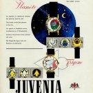 1956 Juvenia Watch Company La Chaux-de-Fonds Switzerland 1956 Swiss Ad Suisse Advert