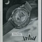 1950 Itana Watch Company Geneva Switzerland Vintage 1950 Swiss Ad Suisse Advert
