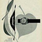 1956 Timor Watch Company Switzerland Vintage 1956 Swiss Ad Suisse Advert