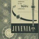 1957 Juvenia Watch Company La Chaux-de-Fonds Switzerland Vintage 1957 Swiss Ad Suisse Advert