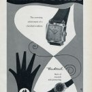 1955 Ernest Borel Watch Company Switzerland Vintage 1955 Swiss Ad Suisse Advert Horology