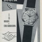 1955 Dogma Watch Company Vintage 1955 Swiss Ad Suisse Advert Switzerland