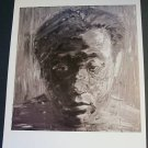 Yan Pei Ming Self Portrait Art Ad Advertisement