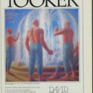 George Tooker 1980 Art Exhibition Ad The Fountain