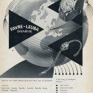 1955 Favre-Leuba Watch Company Vintage 1955 Swiss Ad Suisse Advert Geneva Switzerland