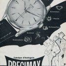 1955 Precimax Watch Company Neuchatel Switzerland Vintage 1955 Swiss Ad Suisse Advert Horology
