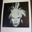 Andy Warhol Self Portrait Fright Wig Art Ad