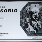 Alfonso Ossorio Vintage 1969 Art Exhibition Ad