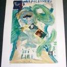 Jonathan Meese Napoleon's Fischy-Fischy Art Ad