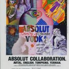 Absolut Collaboration Ron English Betty Tompkins Solomon Avital Marcia G. Yerman Absolut Vodka Ad