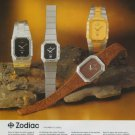 1977 Zodiac Watch Company Switzerland 1977 Swiss Ad Suisse Advert Horlogerie Horology