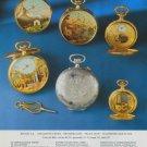 Reuge Watch Company Reuge S.A. Vintage 1977 Swiss Ad Suisse Advert Horlogerie