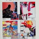 Peter Max Zero Megalopolis Vintage 1982 Art Ad Advert