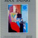 Max Papart Blue Moon 1981 Art Ad Advert Advertisement