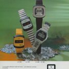 Camy Watch Company Switzerland Vintage 1977 Swiss Ad Suisse Advert Horlogerie