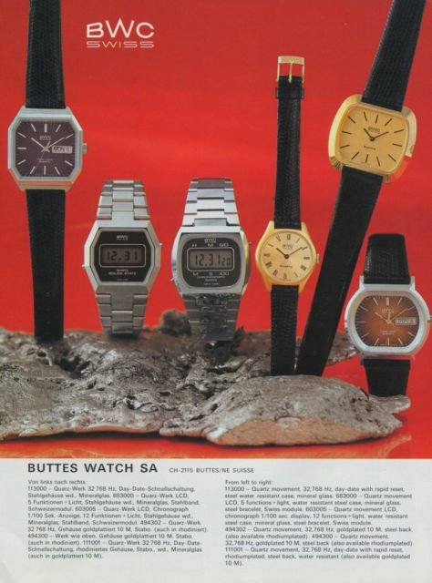 BWC - Buttes Watch Company - All Acronyms
